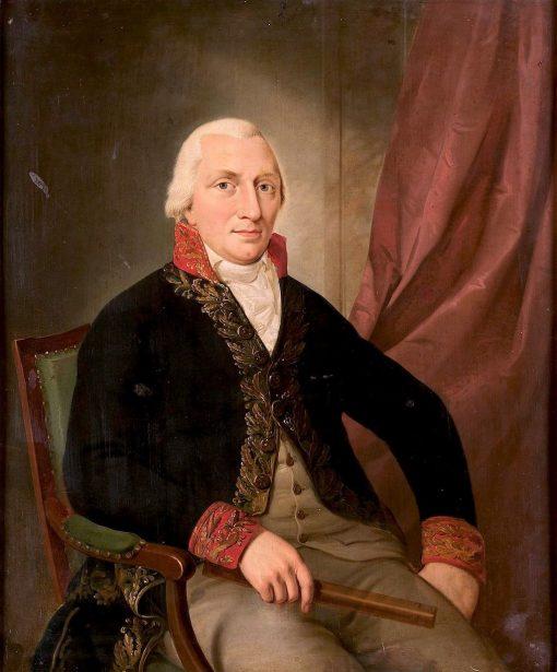 Portrait of Albertus Henricus Wiese