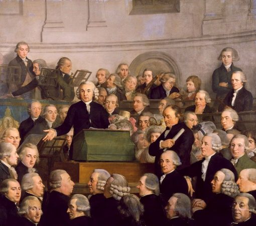 Dedication of the building of Felix Meritis (31 October 1788) | Adriaan de Lelie | Oil Painting