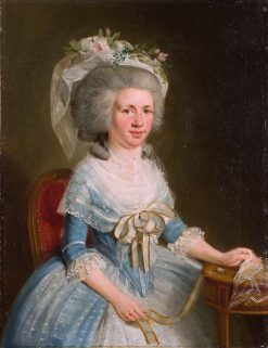 Cornelia Henrietta Backer | Adriaan de Lelie | Oil Painting
