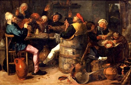 Peasant Feast | Adriaen Brouwer | Oil Painting