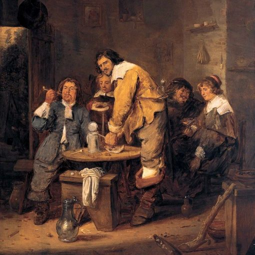 The Tobacco Inn | Adriaen Brouwer | Oil Painting