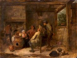 Peasant Quartet | Adriaen Brouwer | Oil Painting