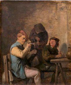 Taste | Adriaen Brouwer | Oil Painting
