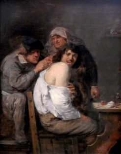 The Back Operation | Adriaen Brouwer | Oil Painting