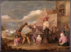 The Quack | Adriaen Brouwer | Oil Painting