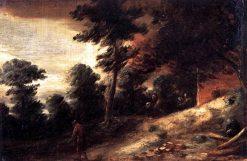 Twilight Landscape | Adriaen Brouwer | Oil Painting