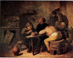 Tobacco Inn | Adriaen Brouwer | Oil Painting