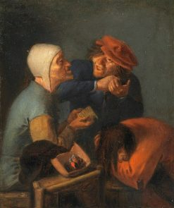 The Delousing | Adriaen Brouwer | Oil Painting