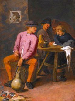 Drunken Singers in a Tavern | Joos van Craesbeeck | Oil Painting