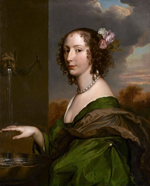 Portrait of Lucy Hay (ne Percy)