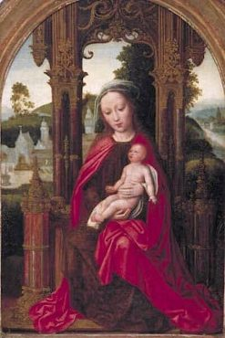 Virgin and Child Enthroned | Adriaen Isenbrandt | Oil Painting