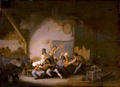 Peasants Making Merry | Adriaen van Ostade | Oil Painting