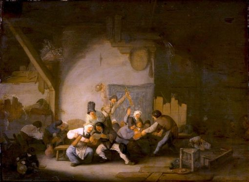 Peasants Making Merry | Adriaen van Ostade | Oil Painting