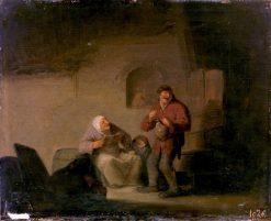 Reading Aloud   Adriaen van Ostade   Oil Painting