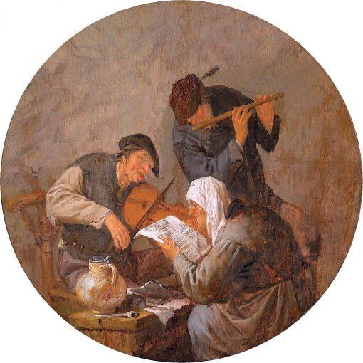 Peasants Making Music | Adriaen van Ostade | Oil Painting