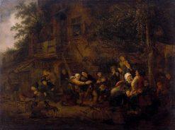 Rural Feast   Adriaen van Ostade   Oil Painting