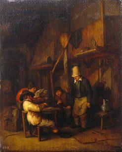 Rural Concert   Adriaen van Ostade   Oil Painting