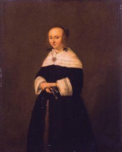 Portrait of a Woman   Adriaen van Ostade   Oil Painting
