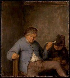 The Smoker | Adriaen van Ostade | Oil Painting