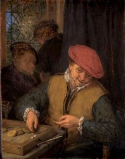 The Tric-Trac Game | Adriaen van Ostade | Oil Painting