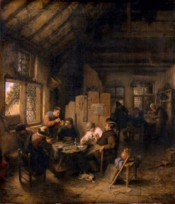 The Table in the Village Inn | Adriaen van Ostade | Oil Painting