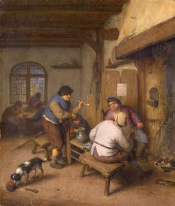 Three Peasants in a Tavern