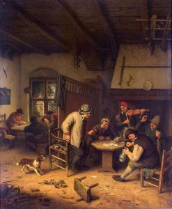 Peasants in a Tavern | Adriaen van Ostade | Oil Painting
