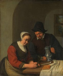 A Confidential Chat | Adriaen van Ostade | Oil Painting