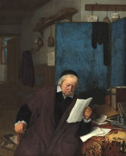 A Lawyer in his Study | Adriaen van Ostade | Oil Painting