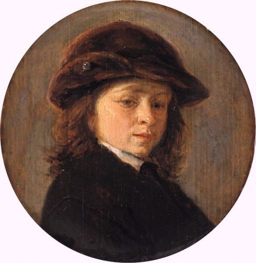 Portrait of a Boy   Adriaen van Ostade   Oil Painting