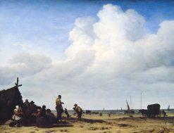 Beach Scene | Adriaen van de Velde | Oil Painting