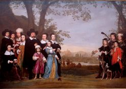 Portrait of the Sam Family | Aelbert Cuyp | Oil Painting
