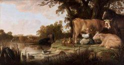 The Milkmaid | Aelbert Cuyp | Oil Painting