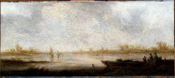 River Landscape | Aelbert Cuyp | Oil Painting