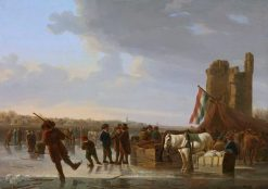 On the Ice | Aelbert Cuyp | Oil Painting