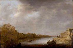 View of Utrecht | Aelbert Cuyp | Oil Painting