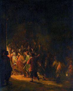 The Arrest of Christ | Aert de Gelder | Oil Painting