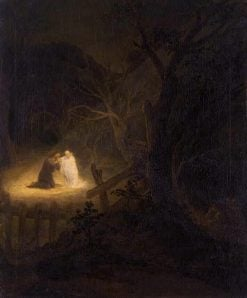 Christ on the Mount of Olives | Aert de Gelder | Oil Painting