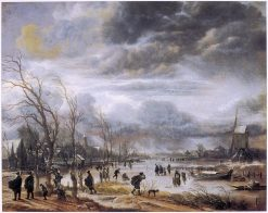 Winter Landscape | Aert van der Neer | Oil Painting