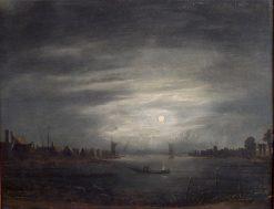 Moonlight | Aert van der Neer | Oil Painting