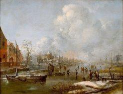IJsvermaak | Aert van der Neer | Oil Painting