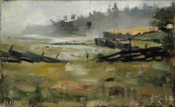 Misty Landscape   Akseli Gallen-Kallela   Oil Painting