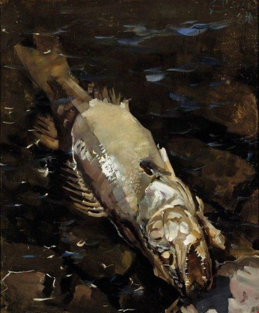 Decaying Sander | Akseli Gallen-Kallela | Oil Painting
