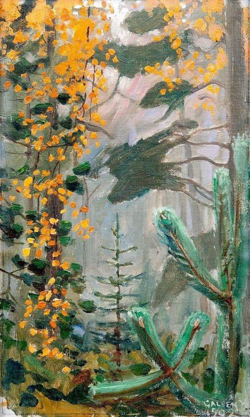 Autumn Forest | Akseli Gallen-Kallela | Oil Painting