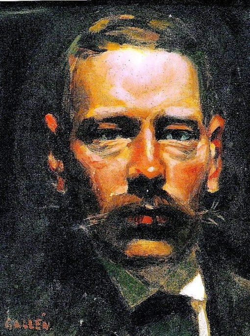 Adolf Paul | Akseli Gallen-Kallela | Oil Painting
