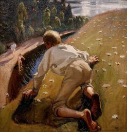 Young Faun | Akseli Gallen-Kallela | Oil Painting