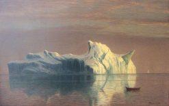The Iceberg | Albert Bierstadt | Oil Painting