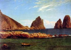 Capri | Albert Bierstadt | Oil Painting