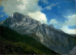 Mountains | Albert Bierstadt | Oil Painting