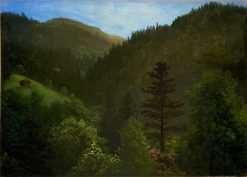 Wooded Landscape | Albert Bierstadt | Oil Painting